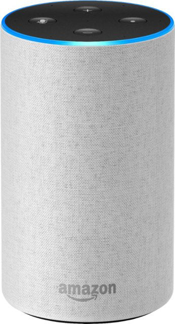 Amazon Echo B06XXM5BPP 2nd Gen Smart Speaker Heather Sandstone Fabric - B