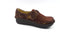 Alegria Dream Fit Leather and Neoprene Slip-ons Dena Interlock Choco - A