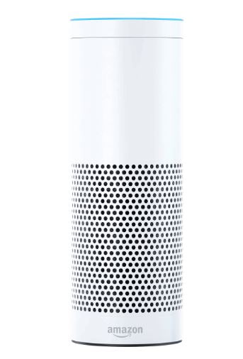 Amazon Echo SK705DI Alexa Voice Personal Assistant Bluetooth Speaker White 1st Gen - B