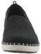CLOUDSTEPPERS by Clarks Slip-On Shoes- Step Glow Slip Black - NEW