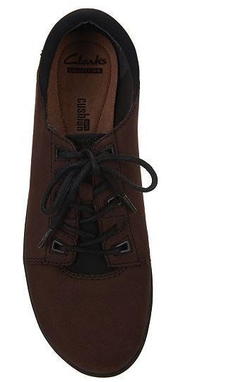 Clarks Nubuck Leather Lace-up Shoes Medora Bella - A
