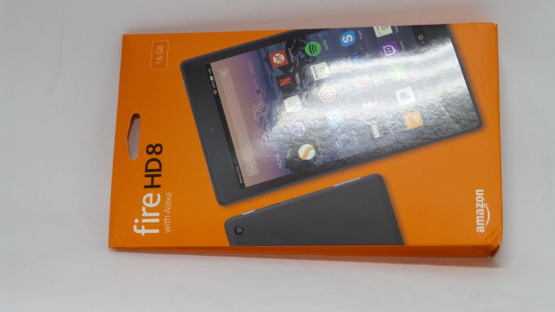 Amazon Fire HD8 L5S83A 8inch (8th Gen) 16GB Quad-Core Wifi Tablet Black - NEW