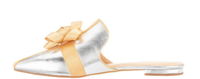 Katy Perry Holiday Bow Mules The Stephanie Silver - A