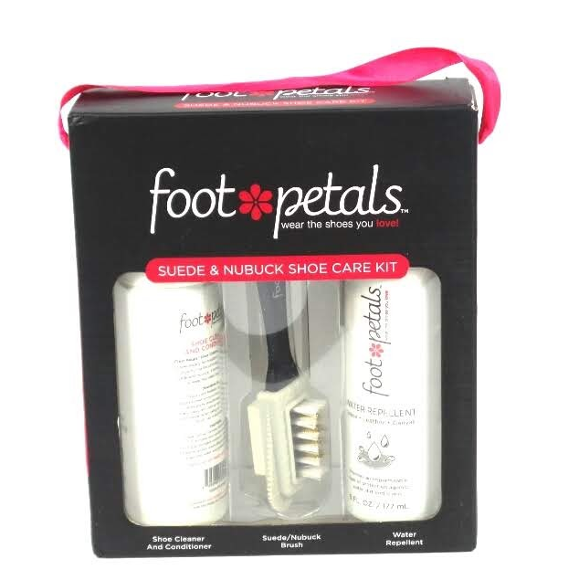 Foot Petals Suede and Nubuck Shoe Care Kit  - NEW