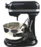 KitchenAid Professional 600 Mix KP26M1XQ20B 6 qt Black - A