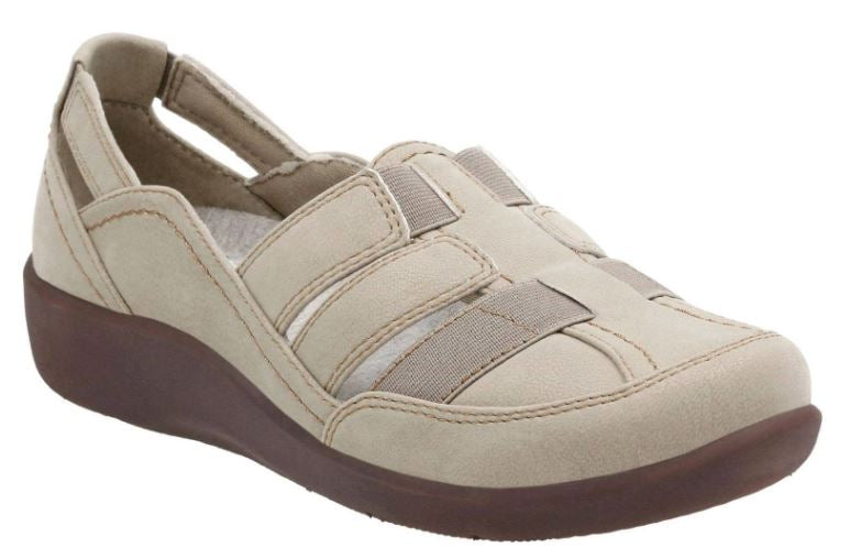 CLOUDSTEPPERS by Clarks Slip-on Shoes Sillian Stork Desert - NEW