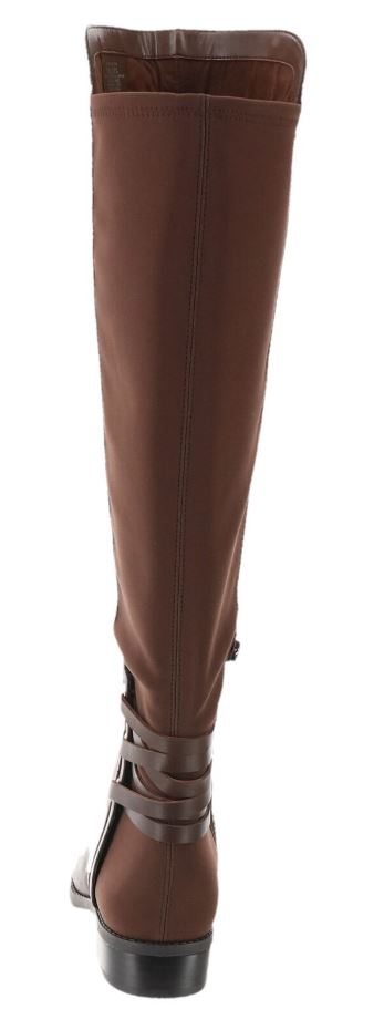 Vince Camuto Wide Calf Leather Tall Shaft Boots Brown - A