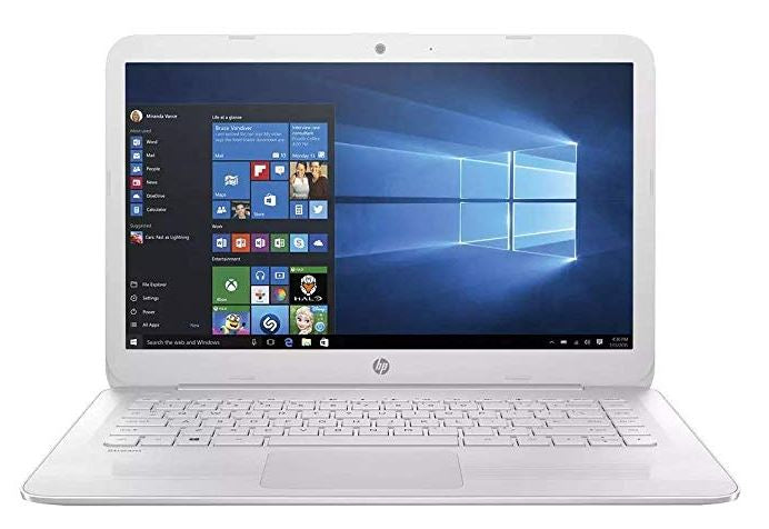HP 15-AC121CY 15.6 Touch Laptop Intel Celeron N3150 1.6GHz 4GB Mem 500GB Hdd Windows 10 White - B