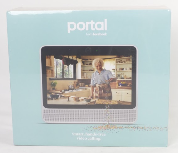 "Facebook Portal 10.1"" Smart Display with Alexa and Video Calling White - NEW"
