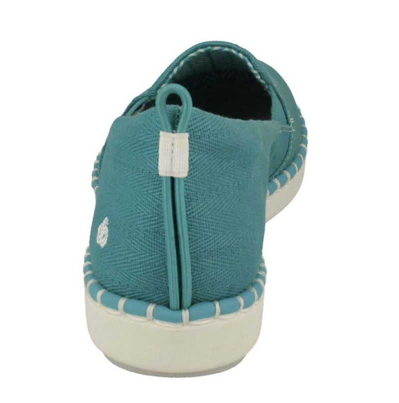 CLOUDSTEPPERS by Clarks Slip-On Shoes- Step Glow Slip Aqua - NEW