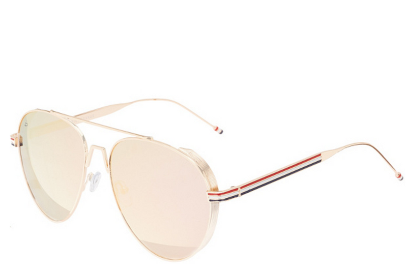 Prive Revaux The G.O.A.T. Polarized Sunglasses Rose Gold - NEW