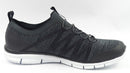 Skechers Stretch Knit Bungee Slip On Sneakers Glider Tuneful Black - A