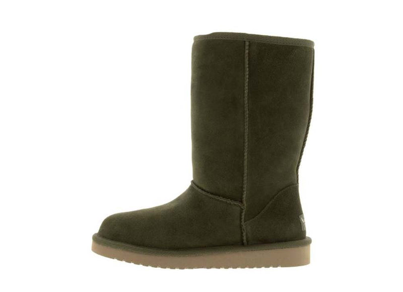 Koolaburra by UGG Suede Tall Boots Koola Olive Night - A