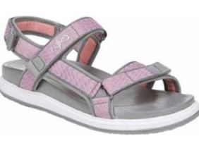 Ryka Adjustable Back-Strap Sport Sandals Cloud Grey - NEW