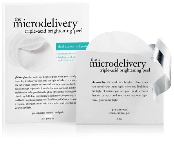 Philosophy 11-count Microdelivery Triple-Acid Peel Pads  - NEW