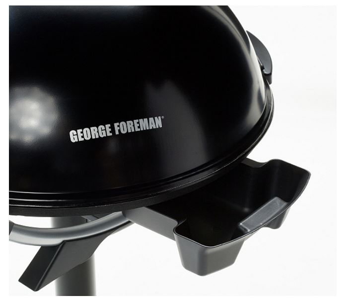 George Foreman G102000BK 15-Serving Indoor/Outdoor Electric Grill Black - E