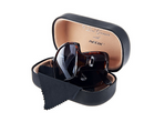 Neox Folding Sunglasses with Compact Case Tortoise - A