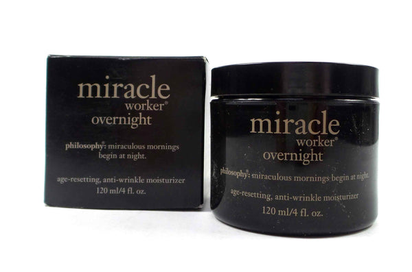 Philosophy Miracle Worker Overnight Moisturizer 4oz. - NEW