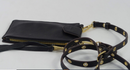 Aimee Kestenberg Leather Phone Crossbody Out of Office Black - A