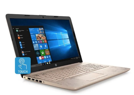 HP 15-BS007CY 15in Touch Laptop i3-7100U 8GB 2TB WIN10 Gold - B