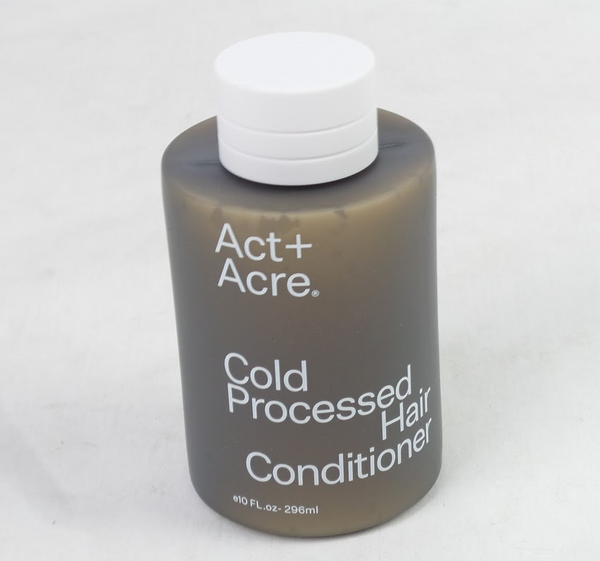 Act+Acre Cold Processed Hair Conditioner Lightweight 10 Oz. - NEW