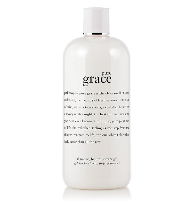 Philosophy Pure Grace Shampoo, Bath & Shower Gel 8 oz. - NEW
