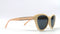 Prive Revaux The Hepburn 2.0 Cat-Eye Polarized Sunglasses Ivory - NEW