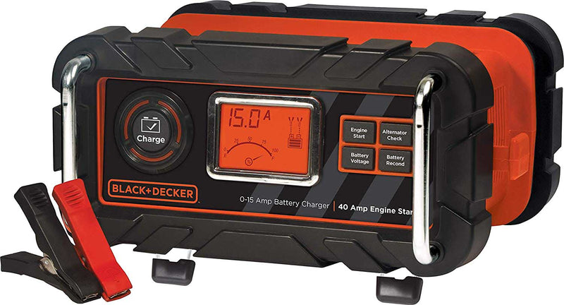 Black & Decker BC15BD Fully Automatic 15-Amp 12V Battery Charger  - A