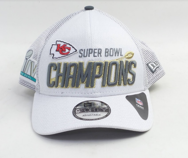 NFL Super Bowl LIV Chiefs New Era Locker Room Cap - NEW