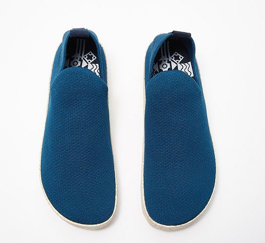 ASPORTUGUESAS by FLY London Mesh Slip On Sneakers Care Blue - NEW