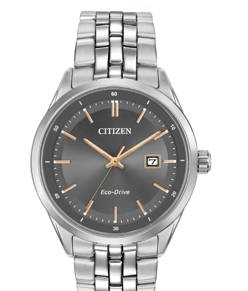 Citizen Corso Eco-Drive Men's Watch BM7251-53H Silver - NEW