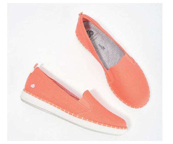 CLOUDSTEPPERS by Clarks Slip-On Shoes- Step Glow Slip Coral - A