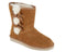 Koolaburra by UGG Suede Bow Short Boots Victoria Chestnut - NEW