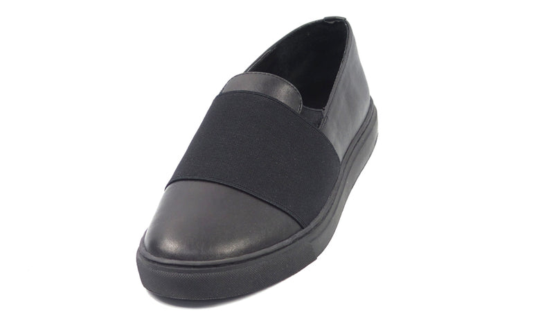 Lori Goldstein Collection Slip-On Tonal Sneakers Black - A