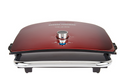 George Foreman 5 Serving Grill & Broil w/ 5 Nonstick Plates Red - A