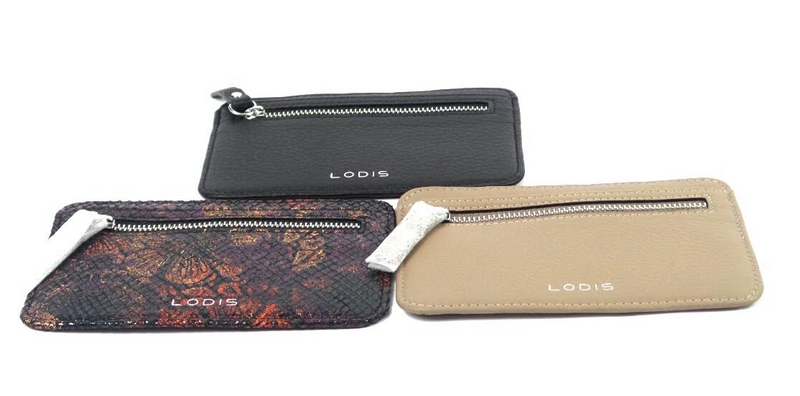 LODIS Leather RFID Card Case -Set of 3 - NEW