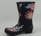 Joules Mid Rain Boots Molly Welly Whist Floral - NEW