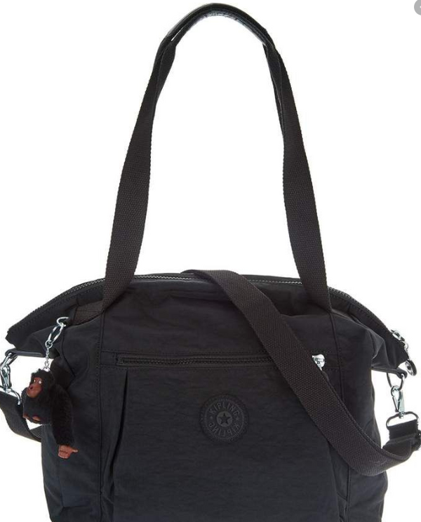 Kipling Convertible Shopper Handbag Jaleb Black - NEW