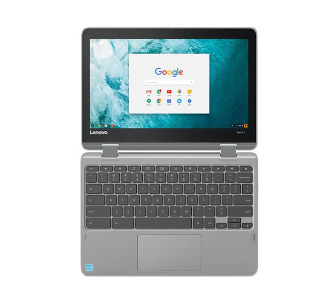 "Lenovo Flex ZA270025US 11"" Chromebook Touch 1.30GHZ 4GB Mem 32GB EMMC Chrome  - B"