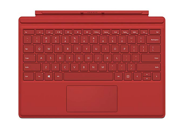 Microsoft Surface Pro QC7-00005 4 Type Cover Red - NEW