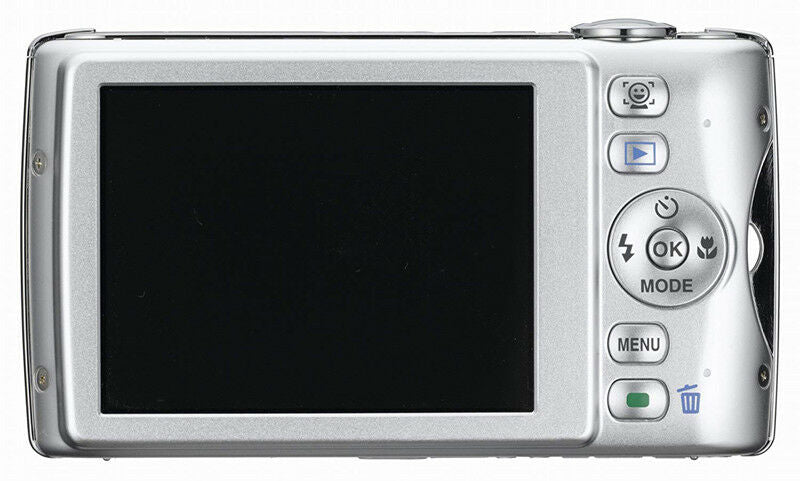 Pentax Optio P70 12MP Digital Camera 4X Optical Zoom Image Stabilizer Silver - B