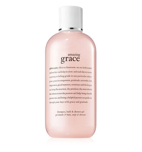 Philosophy Amazing Grace Shampoo, Bath & Shower Gel 8 oz. - NEW