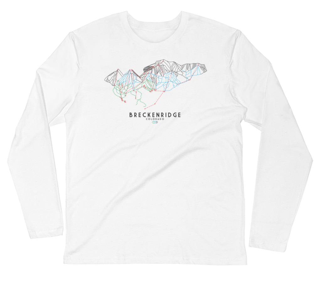 Breckenridge Trail Map | T-shirt