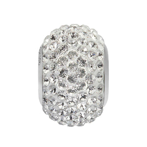 5015359 - BECHARMED CRYSTAL WHITE SWAROVSKI METAL RODINADO