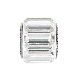 5015393 - BECHARMED CRYSTAL WHITE SWAROVSKI - METAL RODINADO