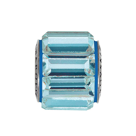 5015404 - BECHARMED CRYSTAL AQUAMARINE / SHINNING BLUE SWAROVSKI - METAL RODINADO