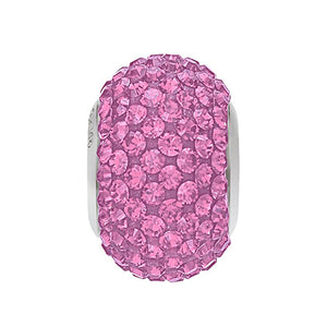 5031436 - BECHARMED CRYSTAL LIGHT ROSE / ROSE SWAROVSKI - METAL RODINADO