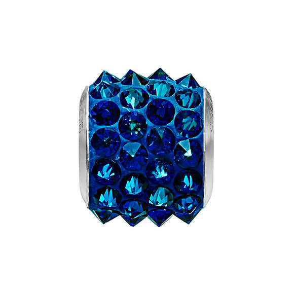 5052895 - BECHARMED SPIKE CRYSTAL BERMUDA BLUE / DARK BLUE SWAROVSKI - METAL RODINADO