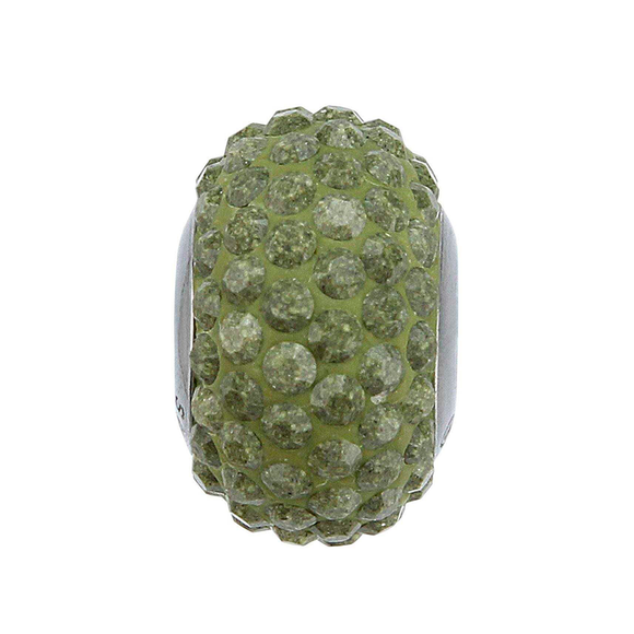 5112964 - BECHARMED CRYSTAL OLIVE SWAROVSKI - METAL RODINADO