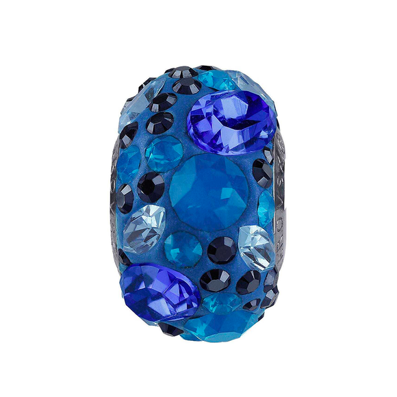 5135875 - BECHARMED CRYSTAL SHINNIG BLUE SWAROVSKI - METAL RODINADO